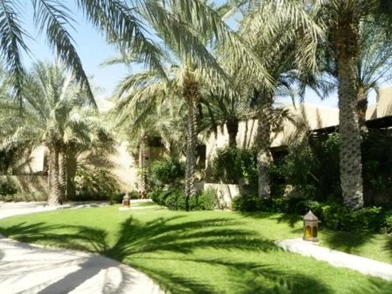 Bab Al Shams Desert Resort & Spa: jardins