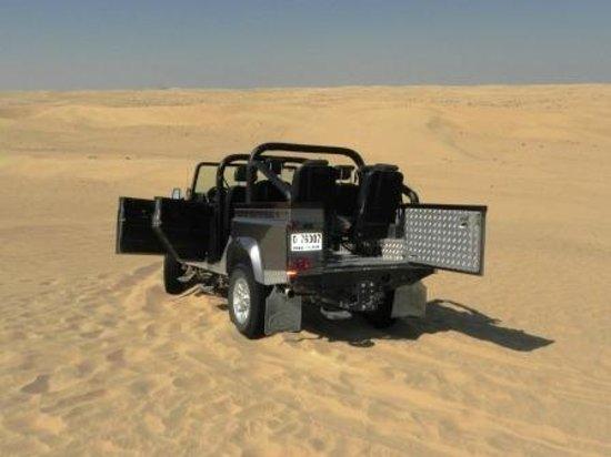 Bab Al Shams Desert Resort & Spa: Este é o Land....com muita emoção nas dunas!!!