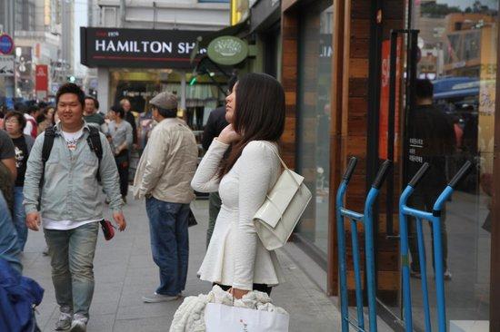 Copacabana Grill: Shoppers