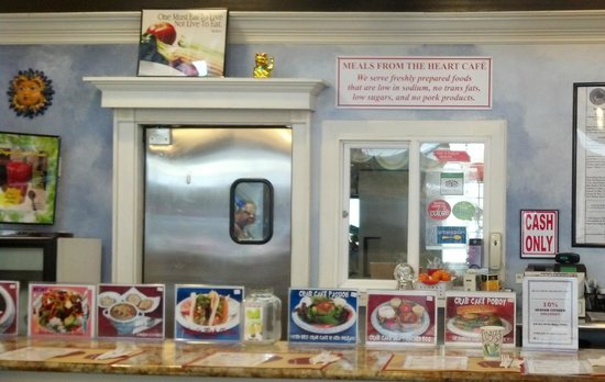 Meals From The Heart Cafe: counter seating