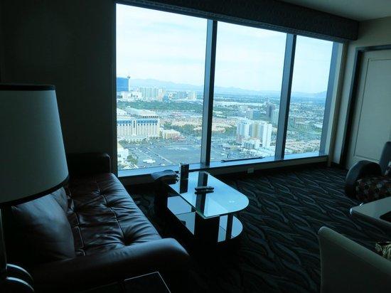 living area picture of elara by hilton grand vacations las vegas rh tripadvisor com au