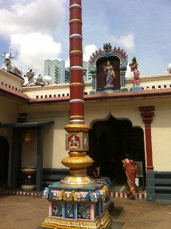 inside the temple - Picture of Sri Mariamman Temple ...