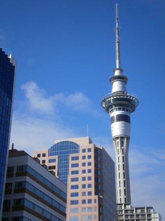 Grand Chancellor Auckland Hotel: Desde la habitación