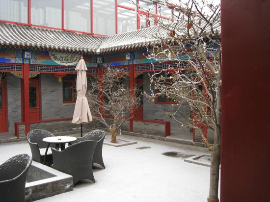 Hotel Cote Cour Beijing: courtyard area