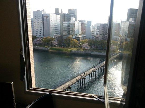 Court Hotel Hiroshima : open window
