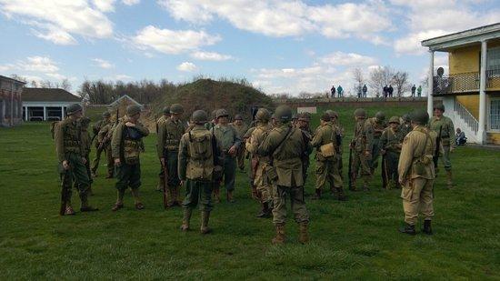 Fort Mifflin: Yanks get their orders