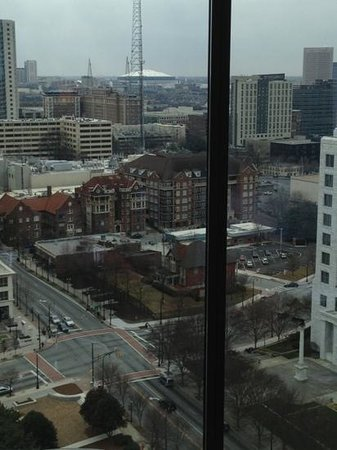 Loews Atlanta Hotel: view from the room