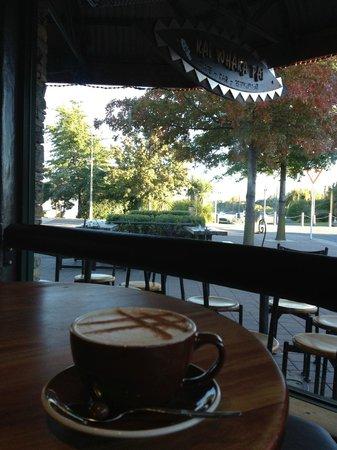 Kai Whakapai Cafe and Bar: view