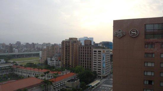 シェラトン 台北, 室内からの風景