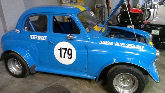 Gippsland Vehicle Collection: raced by Brocky
