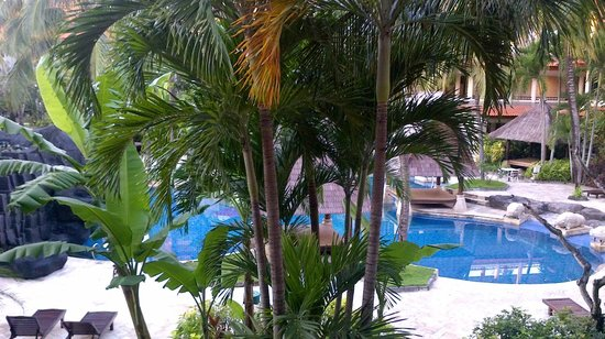 Radisson Bali Tanjung Benoa: Looking down from the third floor