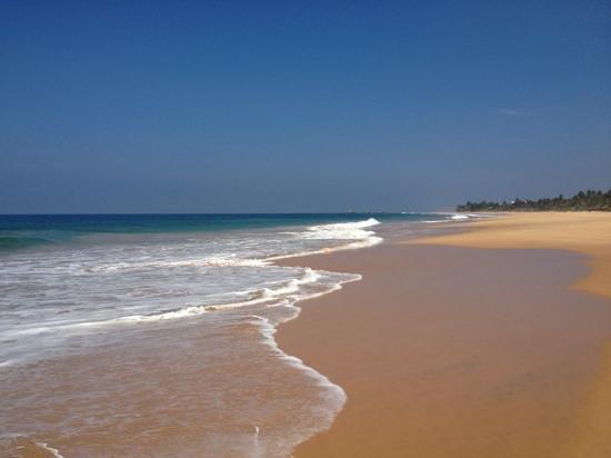 Sunbeach Hotel: strand