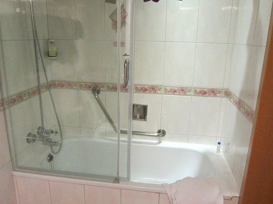 large tub shower combo picture of cosmos hotel taipei