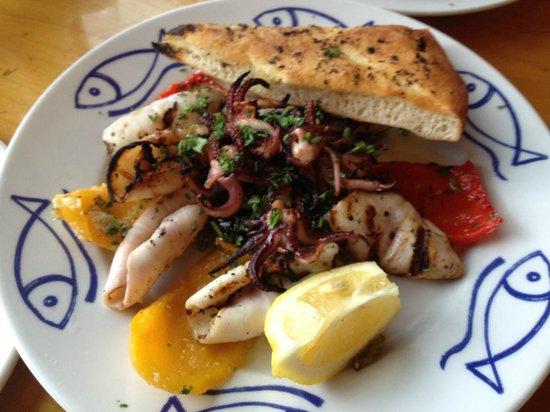 Marcello Pizzeria: Grilled Calamari