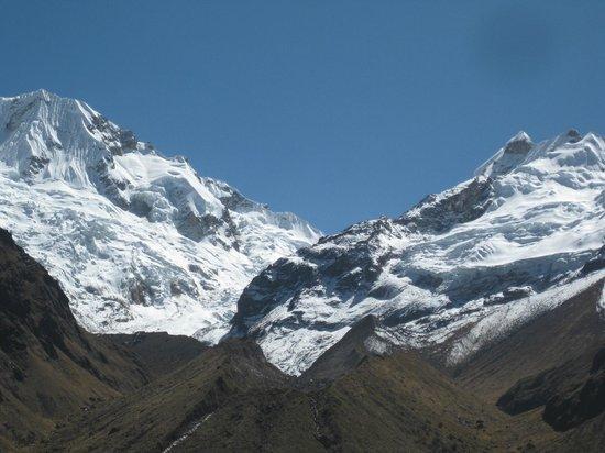 Urubambatal (Heiliges Tal), Peru: 7° día en la cima y entre las dos Cordilleras del Vilcabamba y el Vilcanota (Urubamba)
