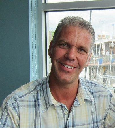 Cerberus Beach House: Restaurant Manager Yves
