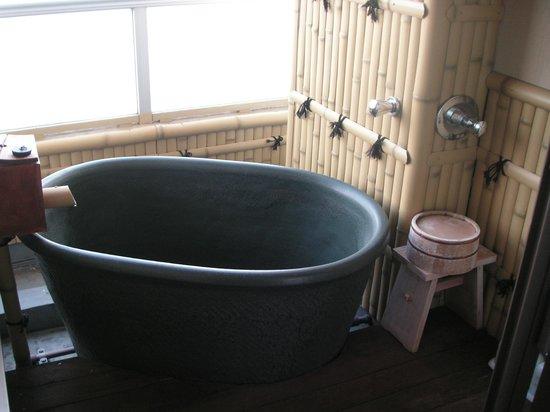 Suehiro: お部屋の露天風呂