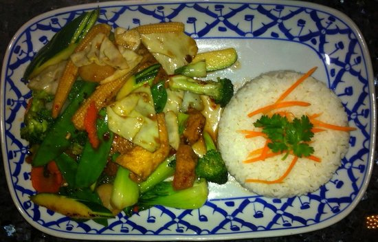 Bangkok Garden Restaurant: Spicy Veggie Curry