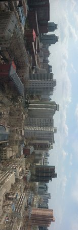 Taiyue Suites Hotel: View from the hotel room