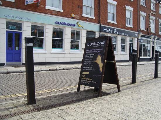 Cuckoos Cafe: Streetview of Cuckoos