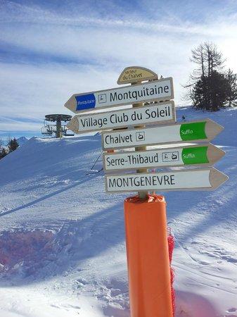 Residence Club mmv Le Hameau des Airelles : On the piste