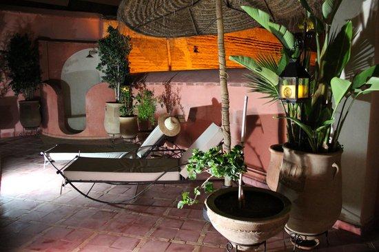Riad Alili : La terrasse du 1er