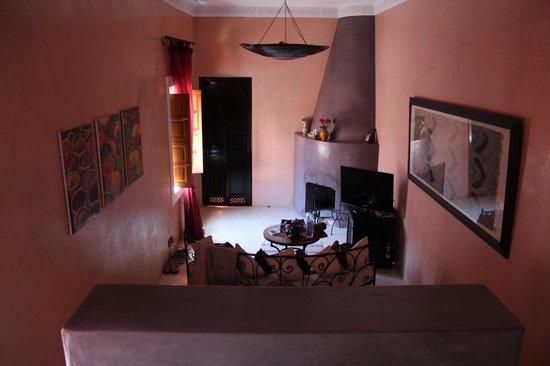 Riad Alili : La suite Bougainvillier