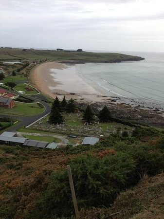 Hanlon House: sea views from the nut and the b&b