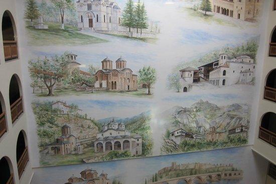 Aleksandar Palace: Wall paintings