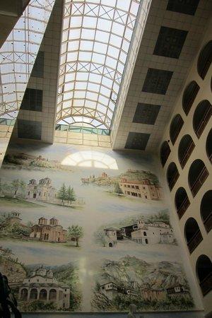 Aleksandar Palace: The glass roof
