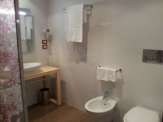 Fabio Massimo Design Hotel: Amazing bathroom...