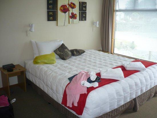 Pohara Beachfront Motel : My bedroom