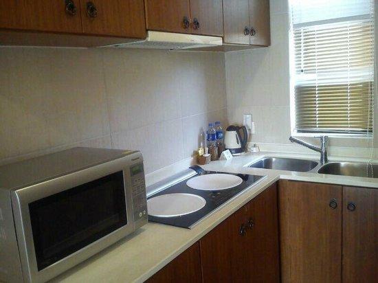 Palm Island Golf Resort: Room has a mini kitchen.
