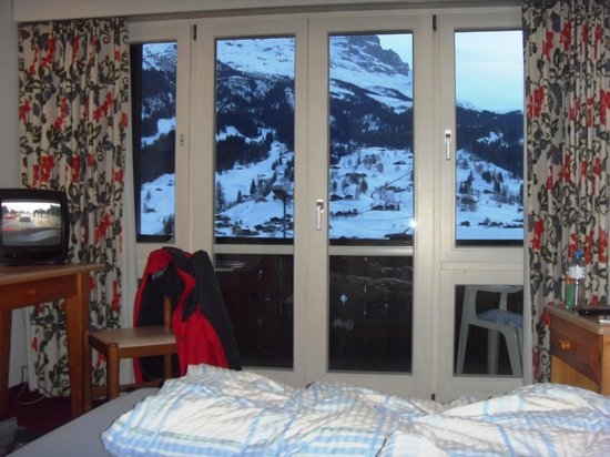 Jungfrau Lodge Swiss Mountain Hotel: View from room