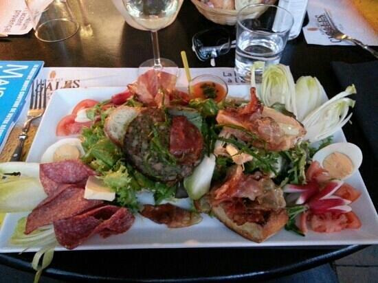 Chez Fanny : salade des alpilles
