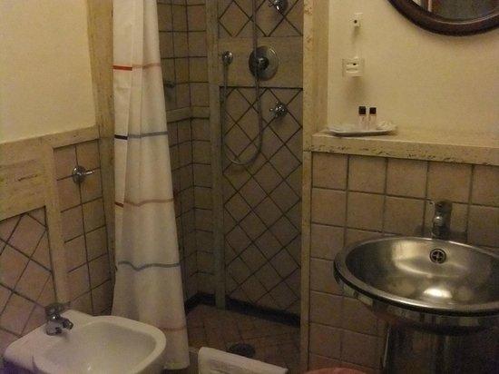 Hotel Suite Esedra : シャワー