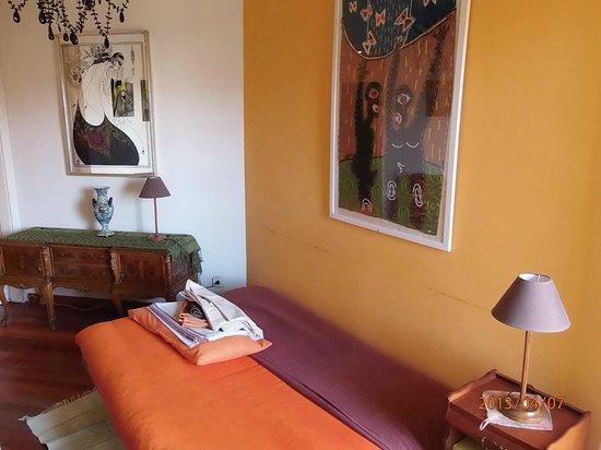 kamer met slaapbank Casa Teva