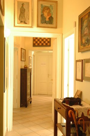 Bed & Breakfast Orti di Trastevere: View from the entrance door