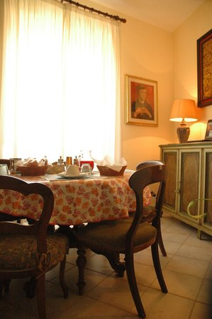 Bed & Breakfast Orti di Trastevere: Breakfast room