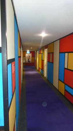 Grosvenor Hotel: i corridoi