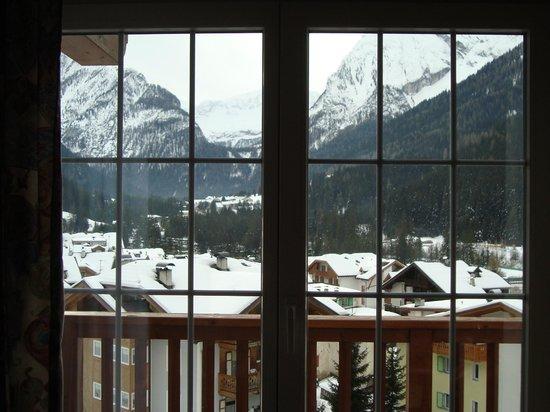 Hotel Alla Rosa: Vista dalla finestra della camera