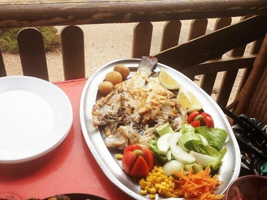 Casa Pon: Vieja con guarnicion