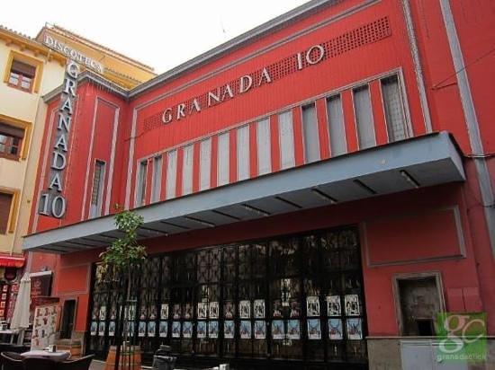 Granada Diez: Discoteca Granada 10