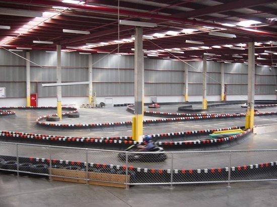 Formula E Indoor Raceway