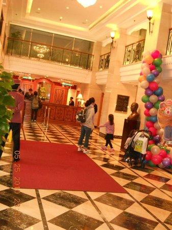 Hotel Sintra: small lobby