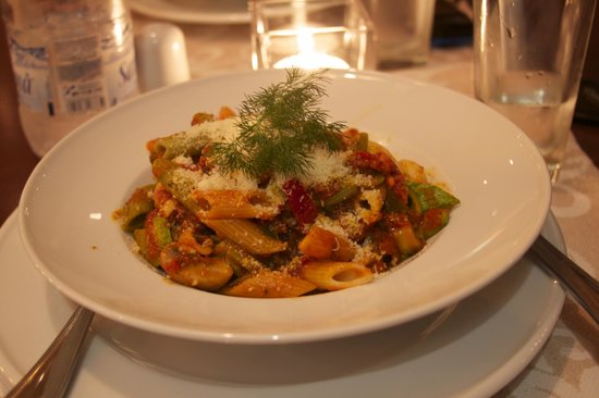 Alexis Hotel, Chania: Penne