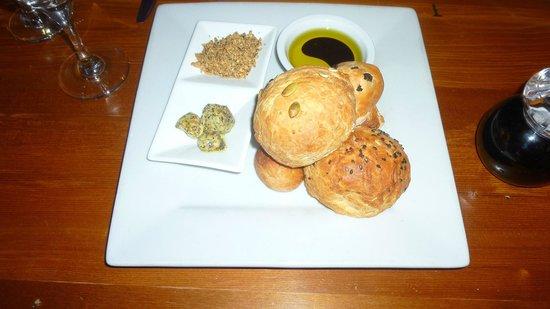 Ginger and Garlic Restaurant: la selezione di pani