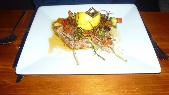 Ginger and Garlic Restaurant: il salmone