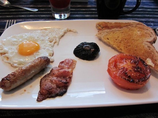 Guysers Gaystay: Cooked breakfast on our first morning