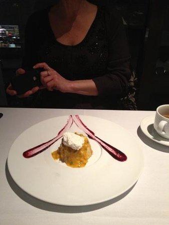 Vermilion : an unusual dessert!